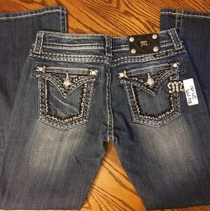 NWT Miss Me Diamond Jeans